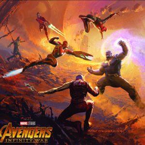 آرت بوک Avengers: Infinity War