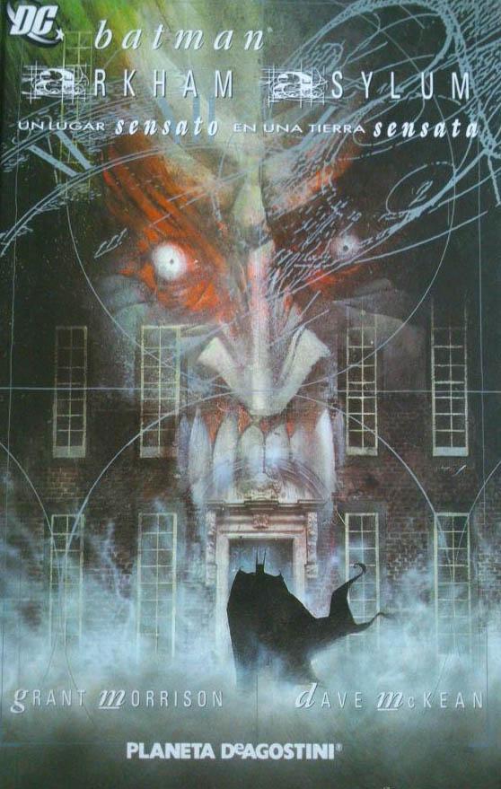 تیمارستان آرکام -دانلود کمیک Arkham Asylum برترین کمیک بوک