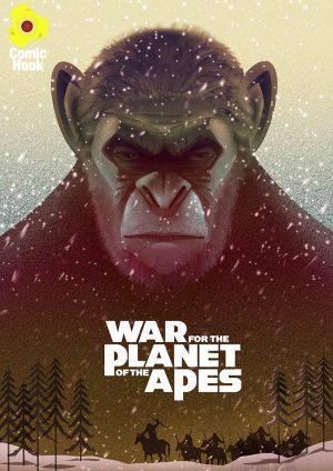 آرت بوک فیلم سیاره میمون ها - کتاب Planet of the Apes