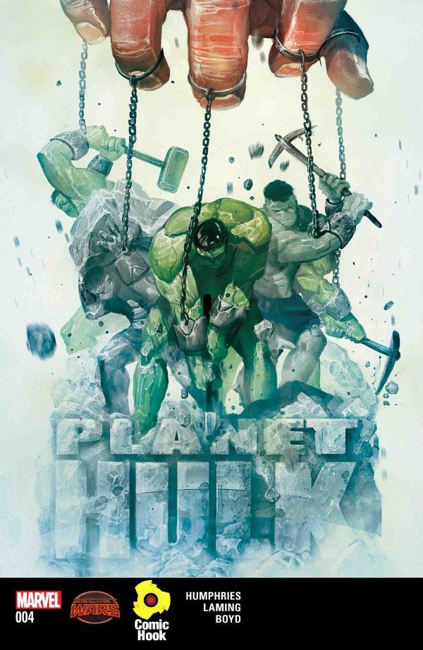دانلود کمیک شماره چهارم سیاره هالک - کامیک سیاره هالک