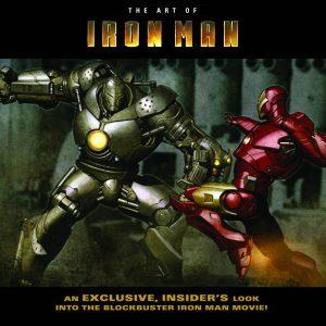 آرت بوک فیلم آیرون من - کتاب فیلم مرد آهنی