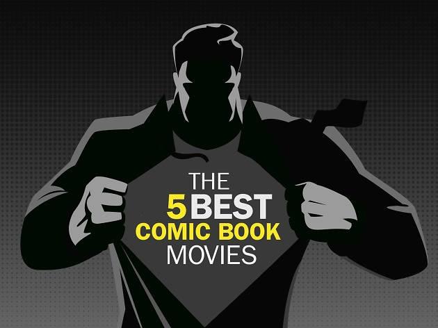 کمیک در سینما بهترین فیلم های سینمایی کمیک بوکی