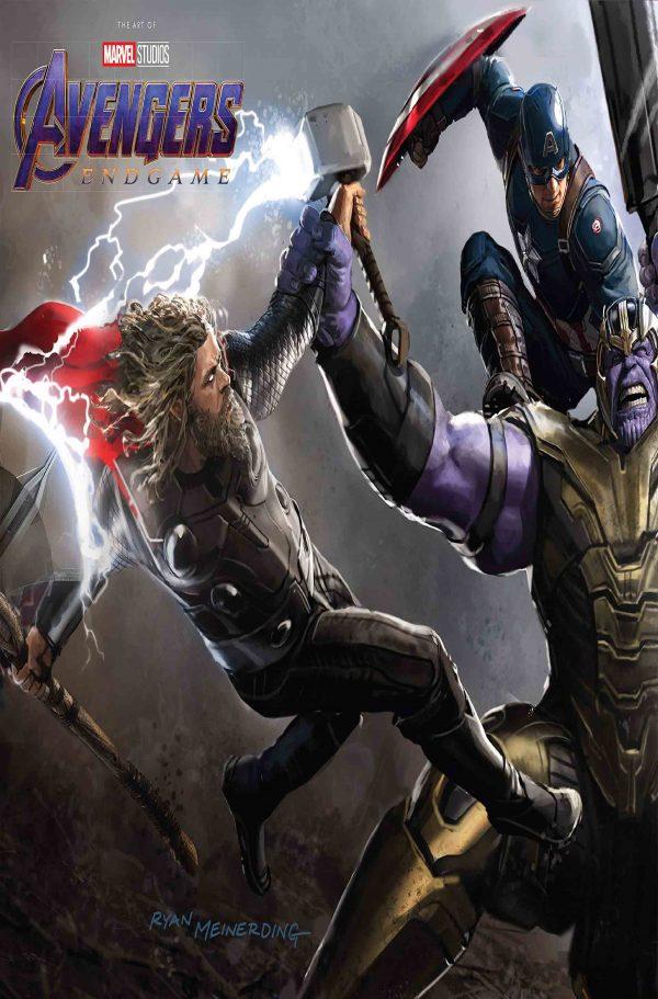 آرت بوک Avengers endgame