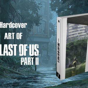 آرت بوک فیزیکی The Last of Us Part II - کتاب هنری آخرین ما 2
