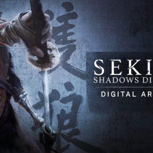 آرت بوک sekiro shadows die twice - کتاب هنری سکیرو