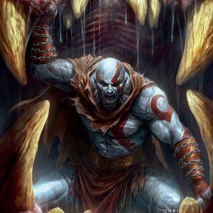 کمیک God of war Fallen god شماره سوم